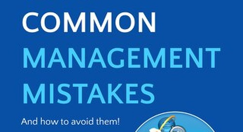 Top 5 Management Mistakes