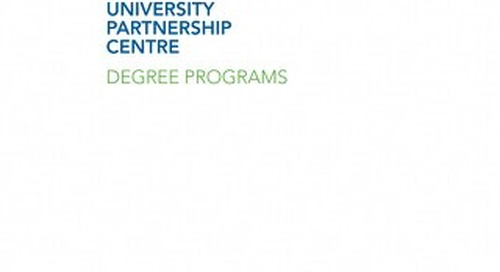 Georgian University Partnership Centre Degree Programs 2015/2016