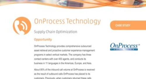 Case Study: OnProcess Technology