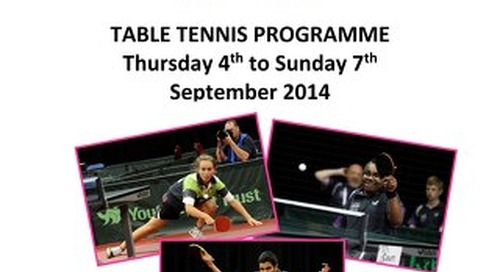 SSG2014 Table Tennis Programme - Final(1)