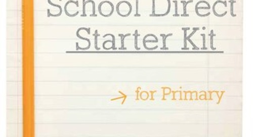 School Direct Starter Kit for Primary