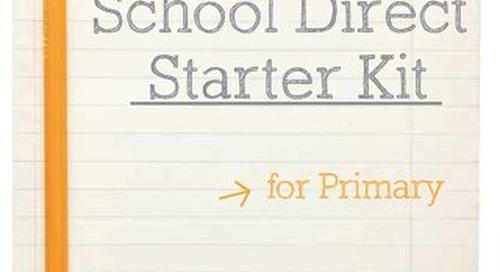 School Direct Starter Kit for Primary