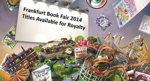 Frankfurt Book Fair 2014_Titles Available for Royalty