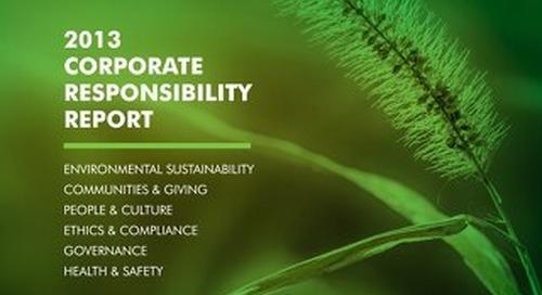 CBRE - 2013 Corporate Responsibility Report