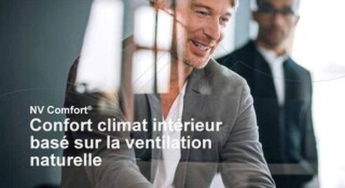 NV Comfort® - Confort climat intérieur basé sur la ventilation naturelle