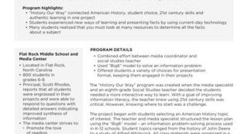 Case Study Flat Rock Middle School
