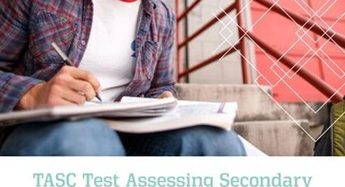 TASC Test Product Brochure