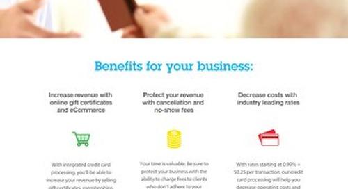 Integrated Credit Card Processing Fact Sheet