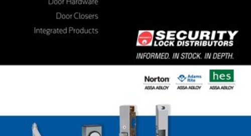 A-line: Security Lock Distributors