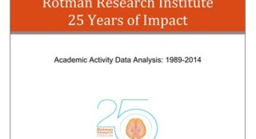 Rotman Research Institute - 25 years of impact