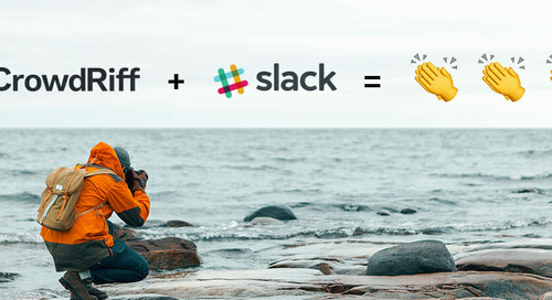Announcing CrowdRiff's Slack integration