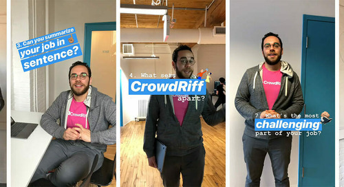 10(ish) Questions with a CrowdRiffer: Amin, Product Manager