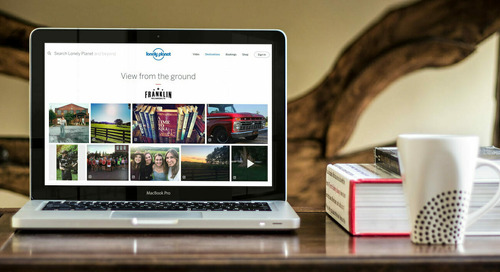 Lonely Planet partners with CrowdRiff to bring visitor visuals into digital Tourism Solutions