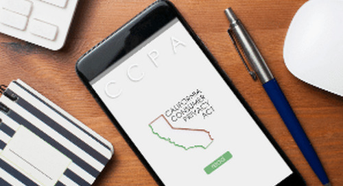Enforcement of CCPA Begins July 1st While Regulations Still in the Offing