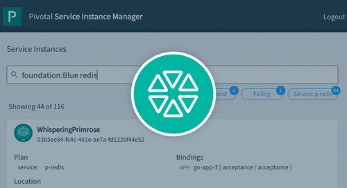 Need to Manage Thousands of Backing Services? Get to Know Pivotal Service Instance Manager.
