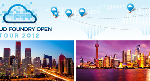 More than 2,000 Developers Attend Cloud Foundry China Open Tour