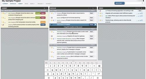 Tracker Screencast: Shortcuts!