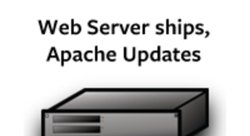 Pivotal Web Server Ships and July's Apache Web Server Releases