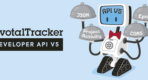 New Pivotal Tracker API Now in Public Beta