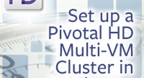 In 45 Min, Set Up Hadoop (Pivotal HD) on a Multi-VM Cluster & Run Test Data