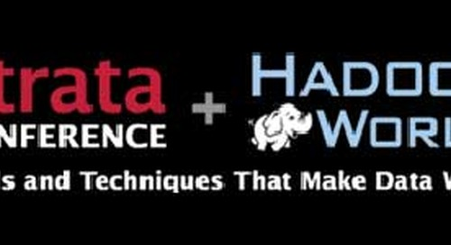 Pivotal's Plans for Strata Conference + Hadoop World, Oct 28-29 in NYC