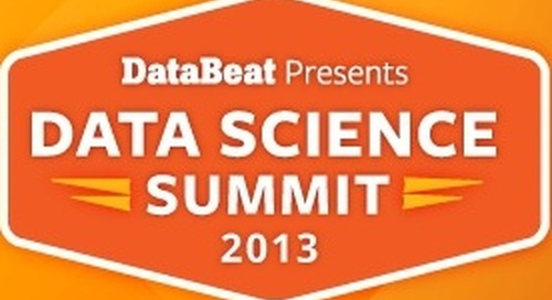 Pivotal and VentureBeat Present DataBeat Data Science Summit 2013
