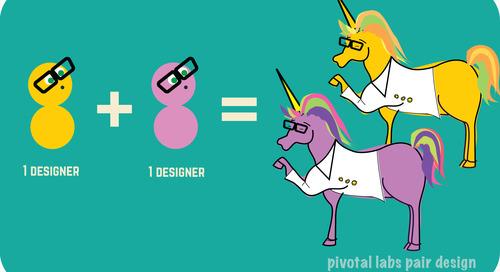 Why pair design?