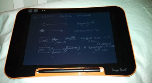 Using the Boogie Board Sync 9.7