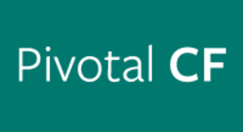 Pivotal CF 1.1 Advances Enterprise PaaS with New Capabilities