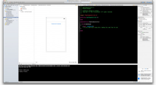 Getting Started on Your First iOS App – Part II