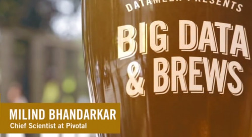 Big Data & Brews: Pivotal's Milind Bhandarkar on Why Hadoop is Like Rocket Science