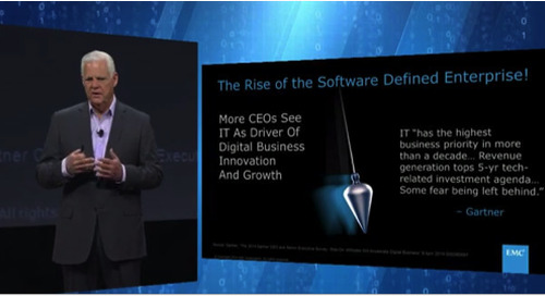 Media Summary of Key Takeaways from EMC World: Growth, The 3rd Platform, and the Federation