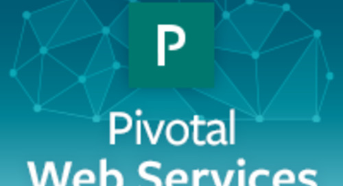 Pivotal Web Services is Open for Business