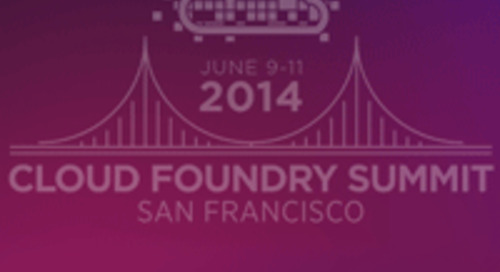 Pivotal Gathers Industry for Second Cloud Foundry Summit