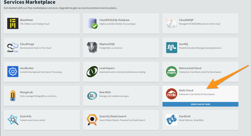 RedisLabs Now Available in Pivotal Web Services Marketplace