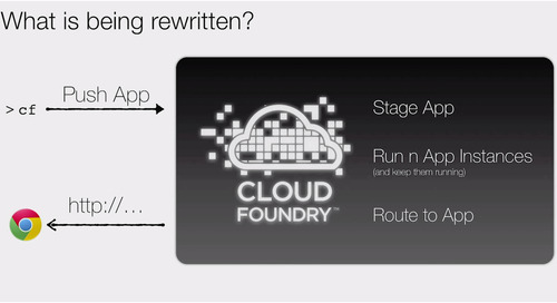 CF Summit Video: Diego Reimagines the Cloud Foundry Elastic Runtime