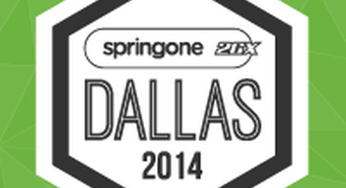 SpringOne 2GX Conference Kicks Off in Dallas with Focus on Microservices and Big Data