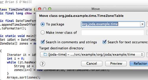 IntelliJ F6-based Refactoring Keyboard Shortcuts on OS X