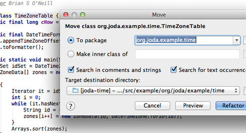 IntelliJ F6-based Refactoring Keyboard Shortcuts on OS X