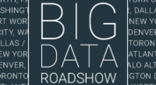 Pivotal Data Roadshow: A View From the Road