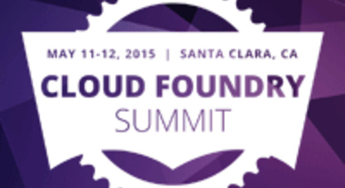Ten Pivotal Customers to Speak at Cloud Foundry Summit May 11-12