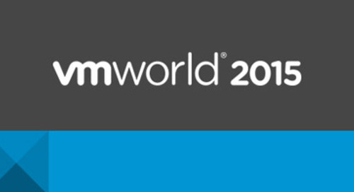 Come Find Us at VMworld 2015: Aug 30-Sept 3, San Francisco