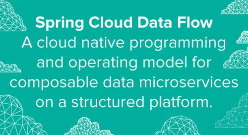 Introducing Spring Cloud Data Flow