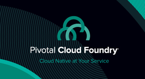 Pivotal Cloud Foundry 1.6 Now Available