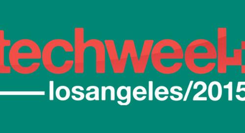 See you at Techweek LA—Lean Start-ups, UX, & Digital Transformation
