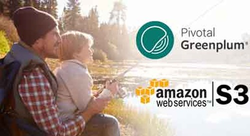 Tech How To: Using Pivotal Greenplum Hybrid Queries on Amazon S3 Data