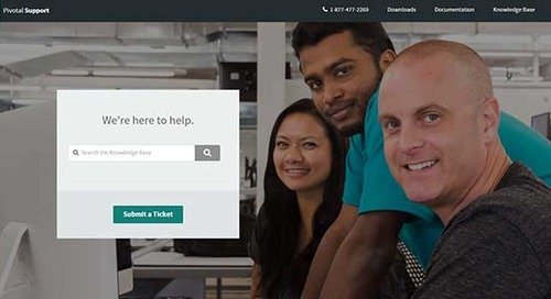 Experience The New Pivotal Customer Portal