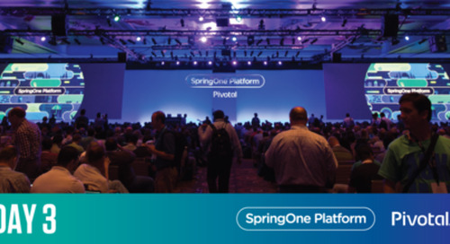 Positive Sum Software & Spring's New Bounce—SpringOne Platform Day 3