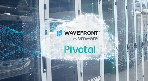 Pivotal Application Service on PCF Monitoring with Wavefront