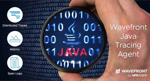 Wavefront Introduces Java Tracing Agent Delivering Out-of-the-Box Application Observability